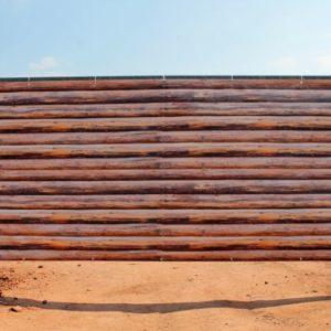 Brise vent style barrière bois personnalisable GEC 300