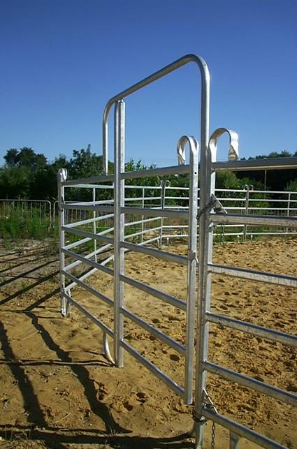 Barrière avec porte TKC