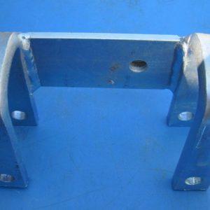 Fixation barrières rigide droite
