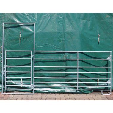 Barrières portes Hauteur 1m10 - 8 traverses