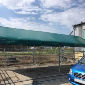 Bâche de toit pour abri 4m x 8m