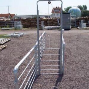 Porte guillotine