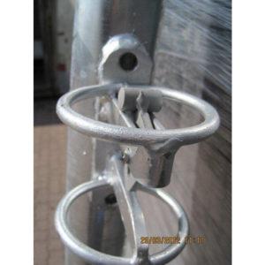 Poteaux pour porte de parc WTAC / Verrou